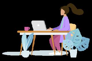 people-desk-girl